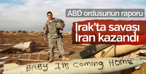 ABD Kara Kuvvetleri'nin raporu: Irak savaşını İran kazandı