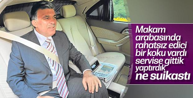 Abdullah Gül suikast iddialarına cevap verdi