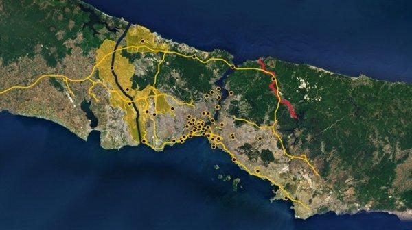 CHP'nin İstanbul adayı İmamoğlu Kanal İstanbul'a karşı