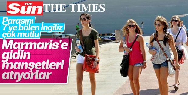 İngiliz gazetesi açıkladı: Tatil için en iyi yer Marmaris