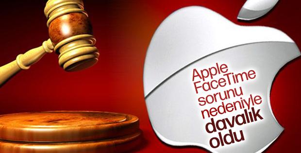 Apple, FaceTime sorunu nedeniyle davalık oldu