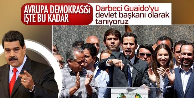 AP Guaido'yu Venezuela Devlet Başkanı olarak tanıdı