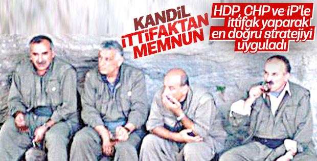 PKK, HDP'nin ittifak stratejisini doğru buluyor