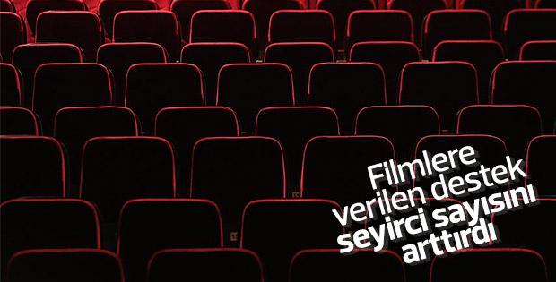 Destekler yerli film ve seyirci sayısını olumlu etkiledi