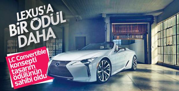 Lexus'un LC Convertible konsepti tasarım ödülü aldı