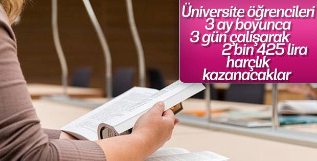 Üniversite öğrencilerine harçlık müjdesi