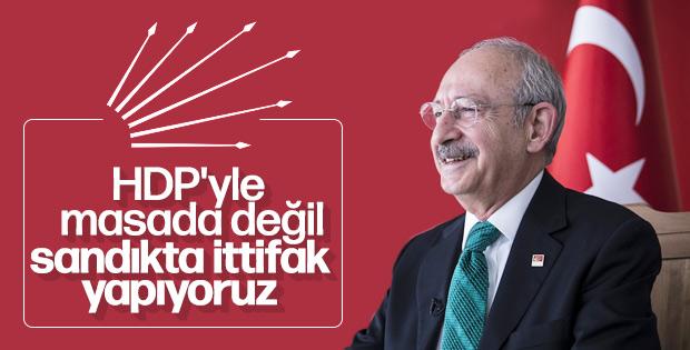 Kılıçdaroğlu HDP oylarını istiyor