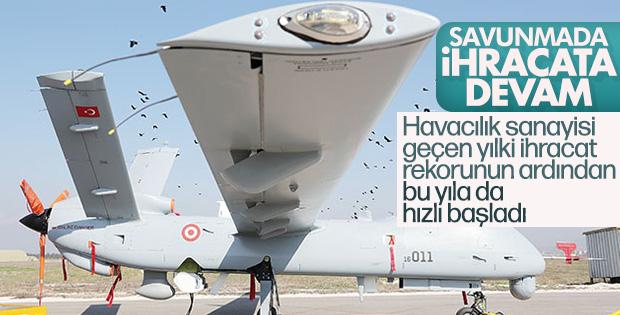 Savunma ve havacılık sanayisi ihracata devam ediyor