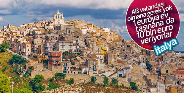 İtalya'nın hayalet kasabalarına yerleşin üstüne para alın