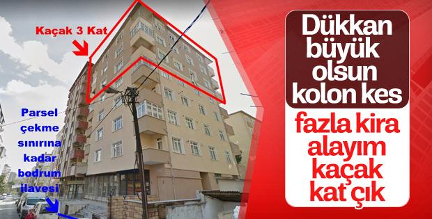 Kartal'daki binanın çökme nedeni
