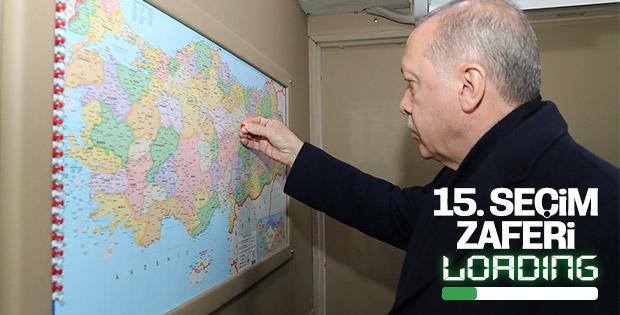Recep Tayyip Erdoğan, 15. zafer için sahada