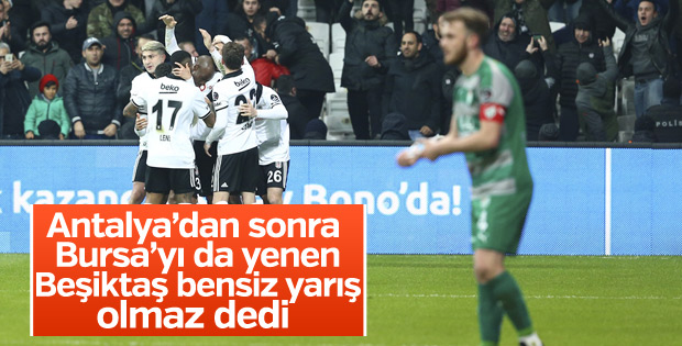 Beşiktaş-Bursaspor - CANLI SKOR
