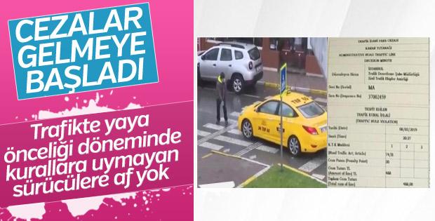 Yaya öncelikli trafik kurallarına uymayana ceza kapıda