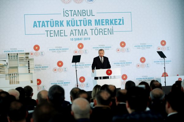Jakoben: Erdoğan: AKM Projesi Millet Düşmanlarına En Güzel Cevap