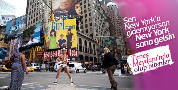 New York Times Meydanı'nda neler var