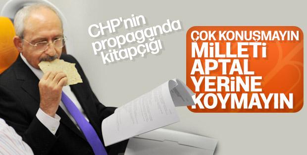CHP samimiyeti 'Radikal Sevgi Kitabı'yla öğretecek