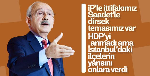 Kemal Kılıçdaroğlu, HDP ile ittifakı gizli tuttu