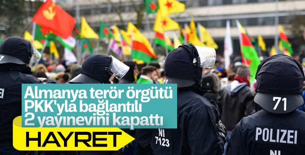 Almanya'dan PKK'yla bağlantılı şirketlere müdahale