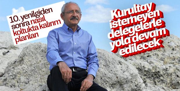 Kılıçdaroğlu'nun seçim sonrası planı
