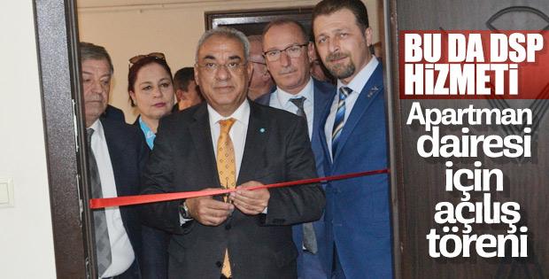 Bursa İnegöl'de DSP'nin ilçe binası açılışı yapıldı