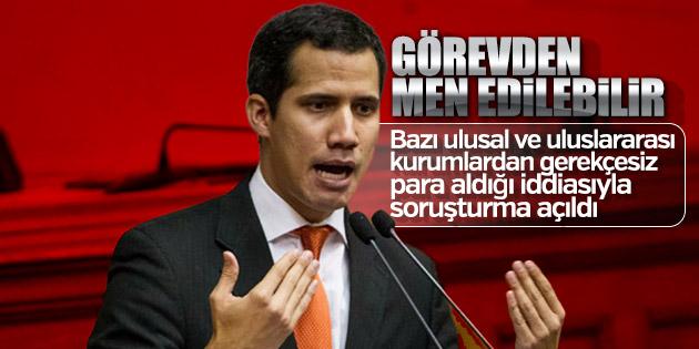 Guaido hakkında dış ülkelerden para aldı soruşturması