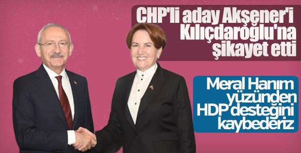 CHP'den Kılıçdaroğlu'na Akşener şikayeti