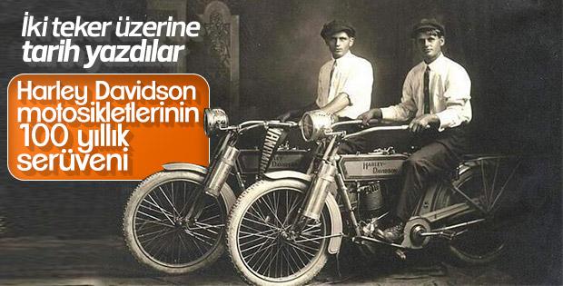 100 yıllık başarı öyküsü: Harley Davidson