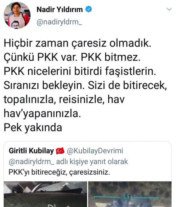 HDP'li vekil PKK ile tehdit etti