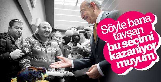 Kılıçdaroğlu niyet çekti