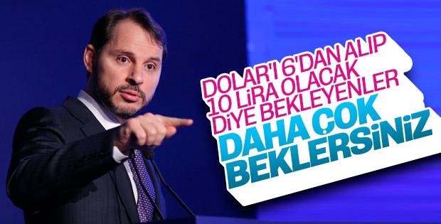 Bakan Albayrak İzmir'de konuştu