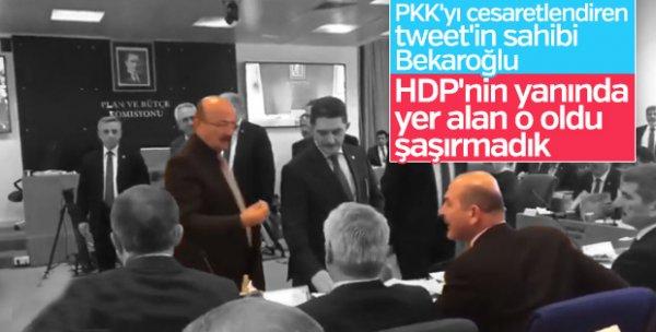 Mehmet Bekaroğlu HDP'lileri savundu