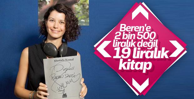 Yılmaz Özdil'den Beren Saat'e 'Mustafa Kemal' kitabı