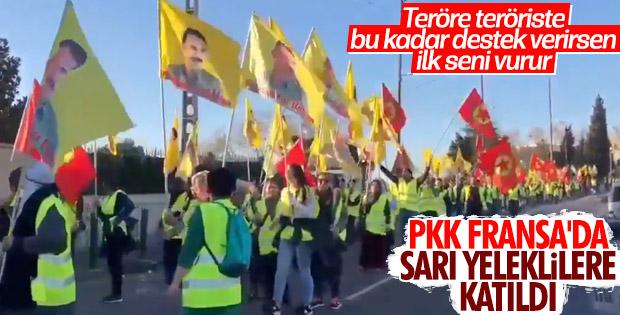 PKK, Fransa'da Sarı Yelekliler'e katıldı