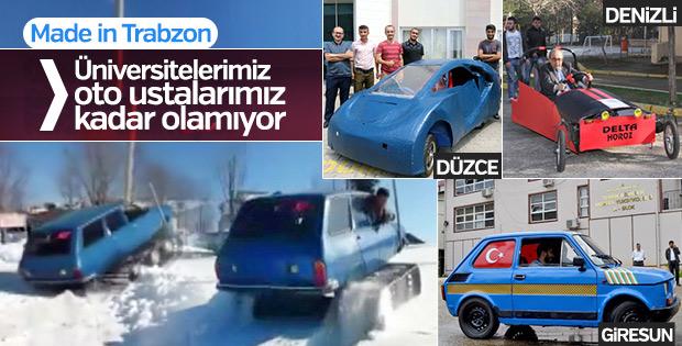 77 model Toros'u paletli kar aracına dönüştürdüler