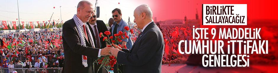 Cumhur İttifakı 31 mart 2019 yerel seçimleri Erdoğan - Bahçeli