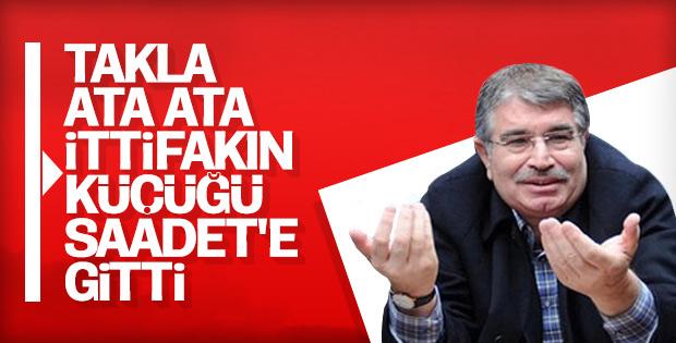 Saadet Partisi İdris Naim Şahin'le görüşüyor