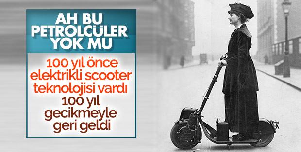 Autoped dünyanın ilk scooter'ıydı