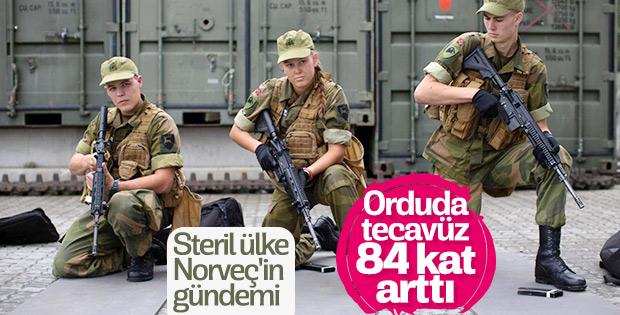 Norveç ordusunda tecavüz vakaları bildirilenden fazla
