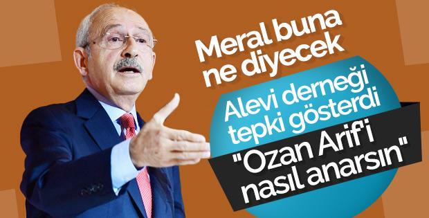 Hacı Bektaş Vakfı'ndan Kılıçdaroğlu'na Ozan Arif tepkisi