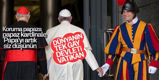 Fransız sosyolog yazdı: Vatikan eşcinsel topluluğu