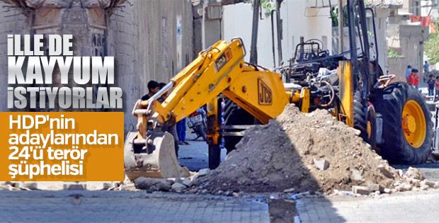 HDP terör suçlarından mahkemelik adaylarla seçime giriyor
