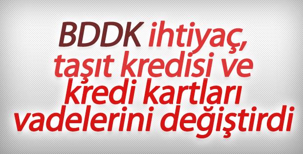 BDDK'dan kredi taksitlerine yeni model