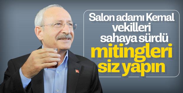 Kemal Kılıçdaroğlu meydanlara inmiyor