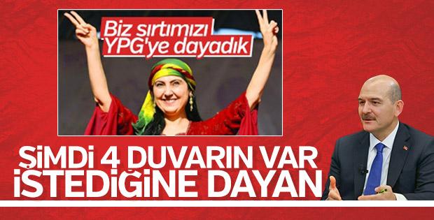Sırtını PKK'ya yaslayanlara Bakan Soylu'dan mesaj