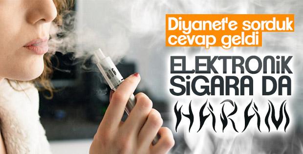 Diyanet: Elektronik sigara caiz değil
