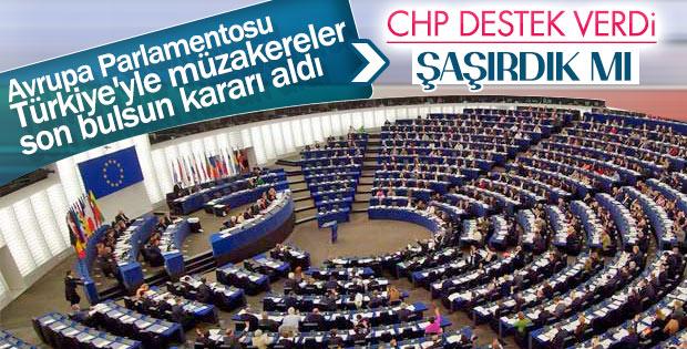 CHP, AP kararına destek çıktı