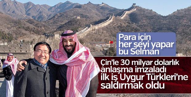 Suudi Arabistan Çin'deki toplama kamplarına destek verdi
