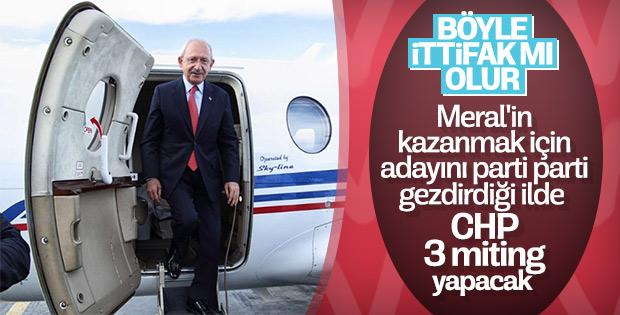 Kemal Kılıçdaroğlu Mersin'de 3 miting yapacak