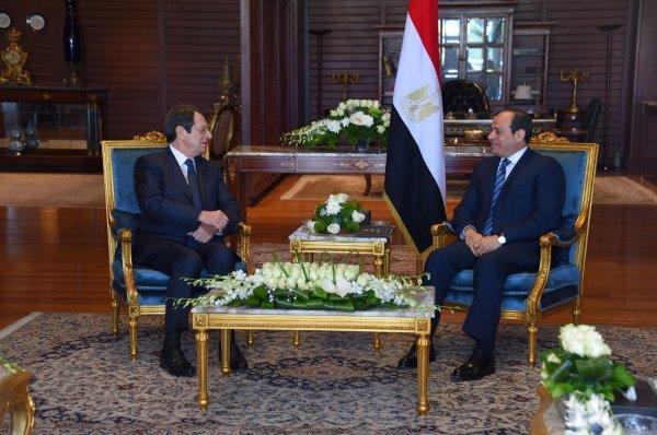 AB liderleri Mısır'da
