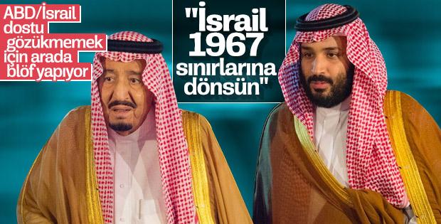 Suudi Arabistan şok Filistin çıkışı yaptı